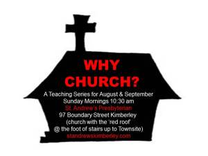 K why church ppt pic poster red