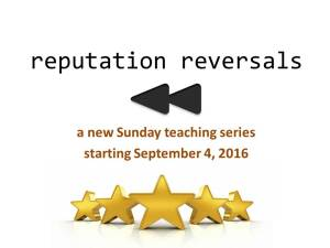 reputation IBC series ppt pic